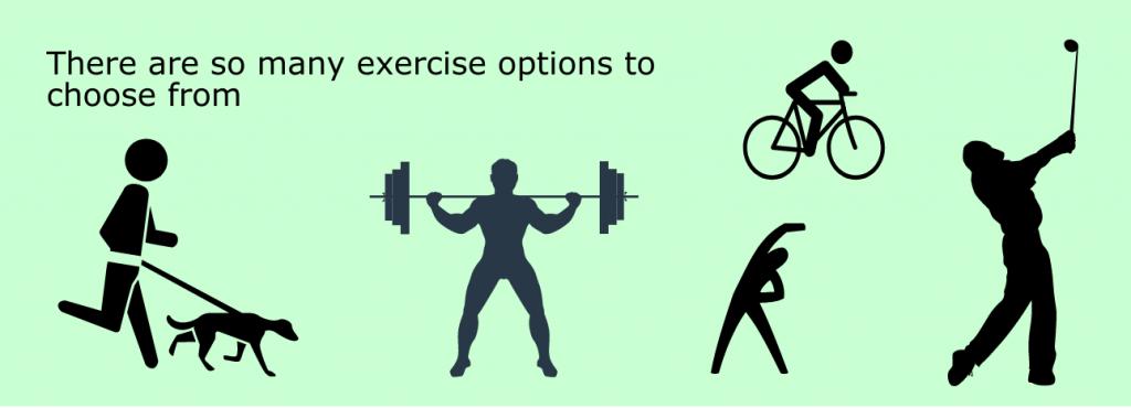 choosing an exercise